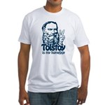Tolstoy is My Homeboy Fitted T-Shirt