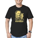 Tolstoy is My Homeboy Men's Fitted T-Shirt (dark)