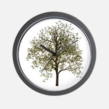 Simple Tree - Wall Clock