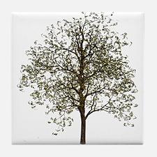 Simple Tree - Tile Coaster
