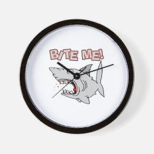 BIte Me Shark Wall Clock