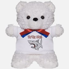 BIte Me Shark Teddy Bear