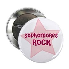 Sophomores Rock Button