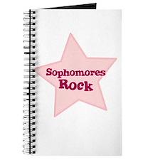 Sophomores Rock Journal