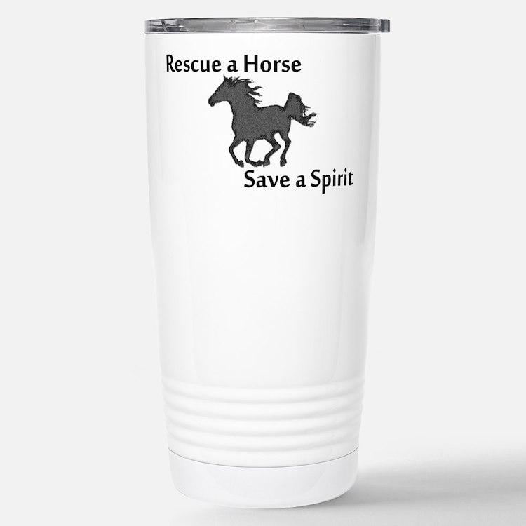 Rescue a Horse Travel Mug