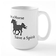 Rescue a Horse Mug