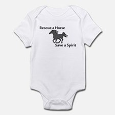 Rescue a Horse Infant Bodysuit