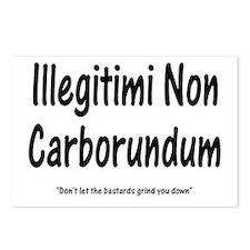 Illegitimi Non Carborundum Postcards (Package of 8