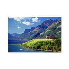 Waterton Lake, Alberta Rectangle Magnet