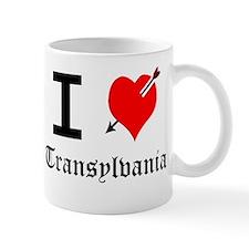 I Love Transylvania Mugs