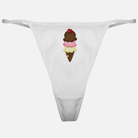 yummy icecream Classic Thong