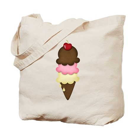yummy icecream Tote Bag