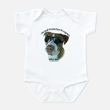 Pit Bull Protection Program Infant Bodysuit