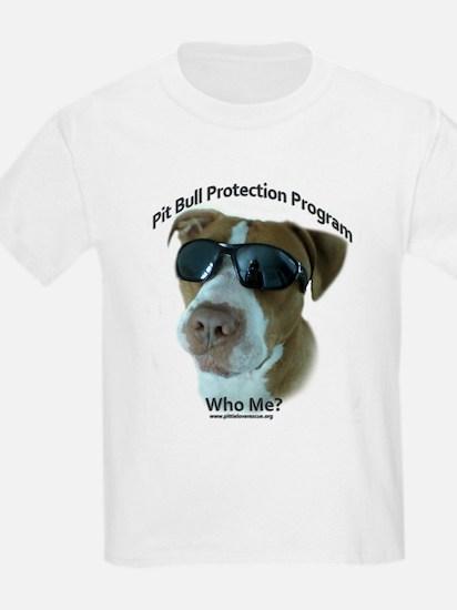 Pit Bull Protection Program T-Shirt