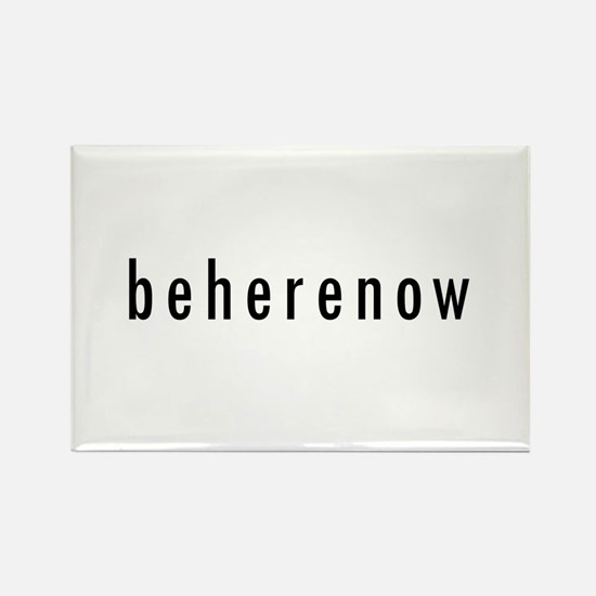 BeHereNow Rectangle Magnet