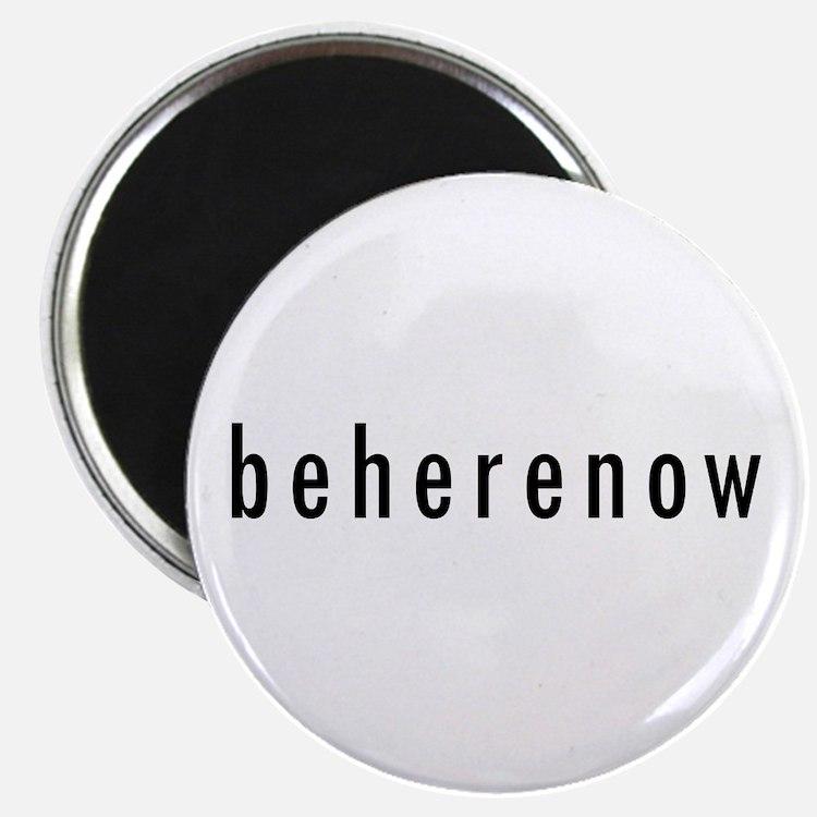 "BeHereNow 2.25"" Magnet (100 pack)"