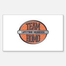 Team Homo Lifetime Decal