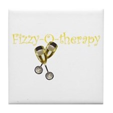 Fizzy-o-therapy Tile Coaster