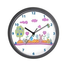 Pink baby design Wall Clock