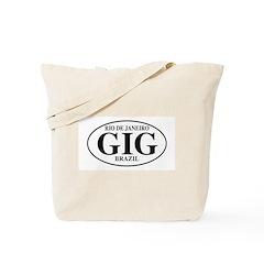 GIG Rio de Janeiro Tote Bag
