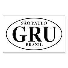 GRU Sao Paulo Brazil Rectangle Decal