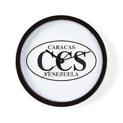 CCS Caracas Wall Clock