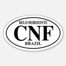 CNF Belo Horizonte Oval Decal