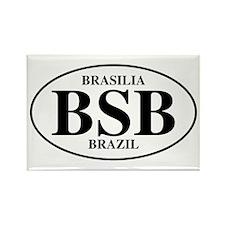 BSB Brasilia Rectangle Magnet