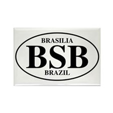 BSB Brasilia Rectangle Magnet (10 pack)