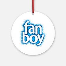 Fan Boy Ornament (Round)