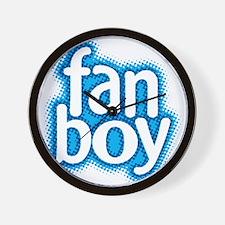 Fan Boy Wall Clock