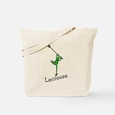 Lacrosse Frog Tote Bag