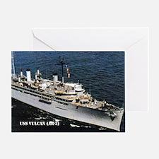 USS VULCAN Greeting Card