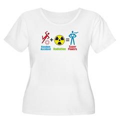 Super Powers Women's Plus Size Scoop Neck T-Shirt