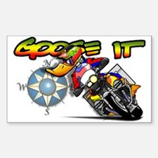 Goose It ADV Rectangle Decal