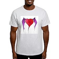 Bat Winged Heart T-Shirt