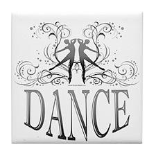 DANCE (gray) Tile Coaster
