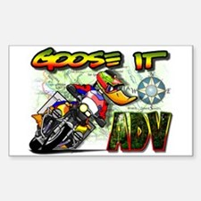 Goose It ADVENTURE Rectangle Decal