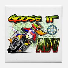 Goose It ADVENTURE Tile Coaster