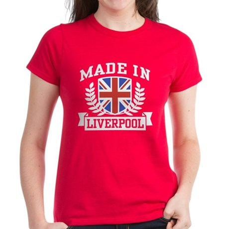 Made In Liverpool Women's Dark T-Shirt