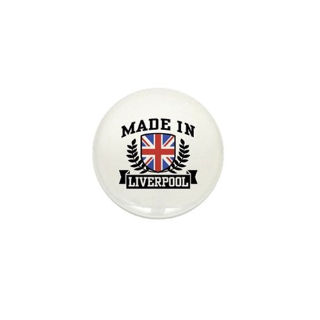 Made In Liverpool Mini Button