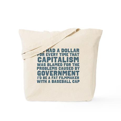 Blaming Capitalism Tote Bag