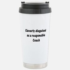 Cute Soccer coach Travel Mug