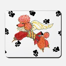 Gulliver's Angels Apricot Poodle Mousepad