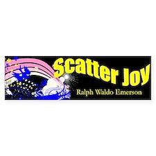 Scatter Joy Bumper Bumper Sticker