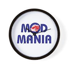MOD MANIA Wall Clock