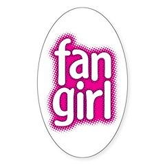 Fan Girl Oval Decal