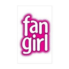 Fan Girl Rectangle Decal
