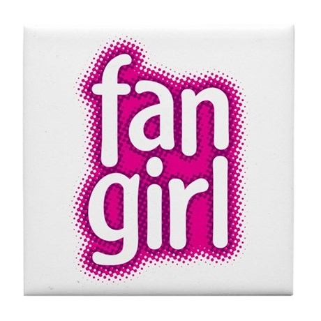 Fan Girl Tile Coaster