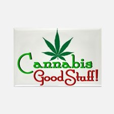 CANNABIS - GOOD STUFF! Rectangle Magnet